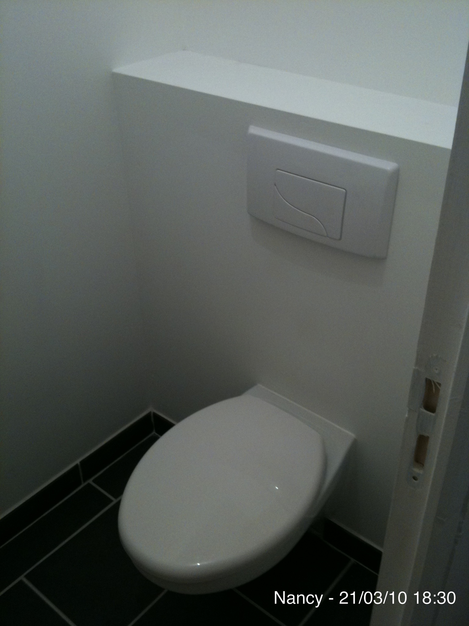 Appartement 6 for Carrelage sol wc